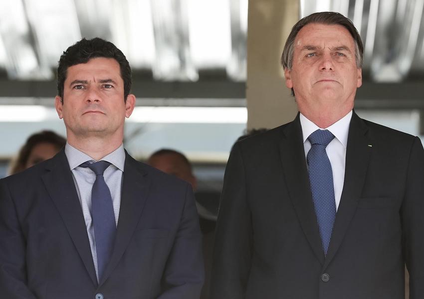 Moro nega candidatura em 2022: 'Meu candidato é Bolsonaro'