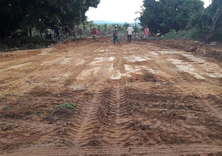 Prefeitura de Livramento conclui acesso que liga os bairros Barriguda e Santa Cruz