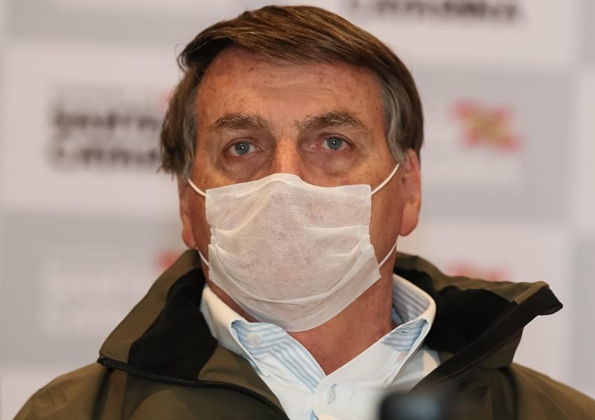 Presidente Jair Bolsonaro está com coronavírus