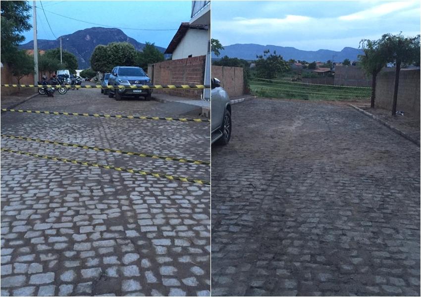 Prefeito de Livramento comemora aniversário entregando pavimentação no município