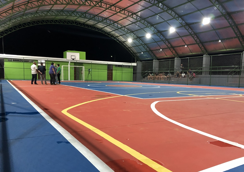 Aberta licitação para cobertura e construção de quadras poliesportivas em escolas de 46 municípios