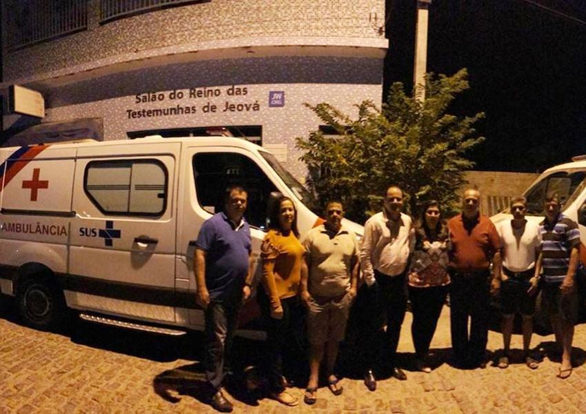 Jussiape: Nova ambulância atenderá pacientes em Caraguataí