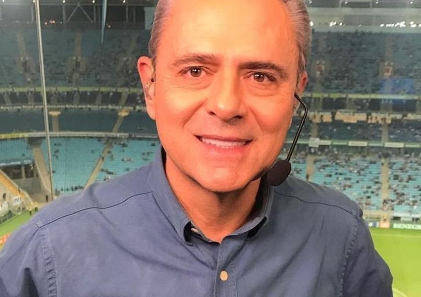 Luis Roberto passa mal após narração de Suécia x Inglaterra