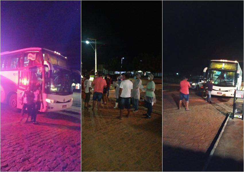 Coronavírus: Ônibus clandestino que levava passageiros de São Paulo para Livramento é interceptado em Caetité