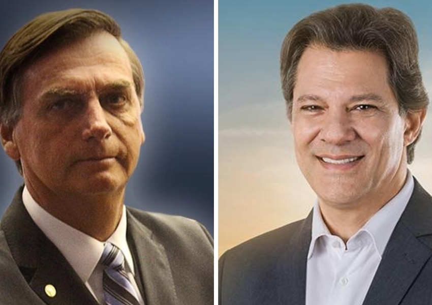 Ibope: Bolsonaro tem 59% e Haddad 41%