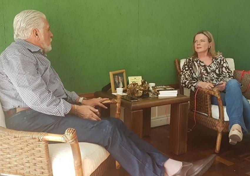 Justiça autoriza visita de Wagner e Gleisi a Lula