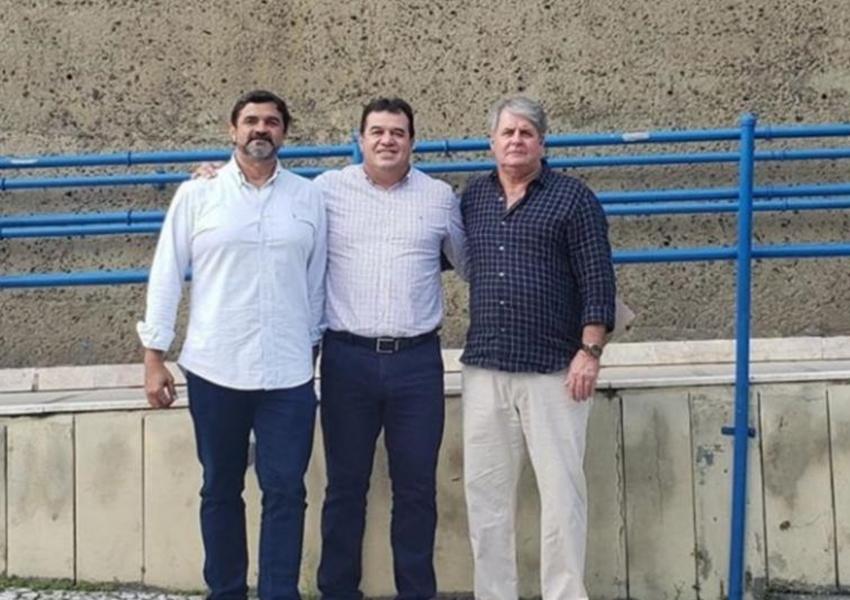 Deputado Marquinho Viana na Embasa agiliza projetos para Iramaia