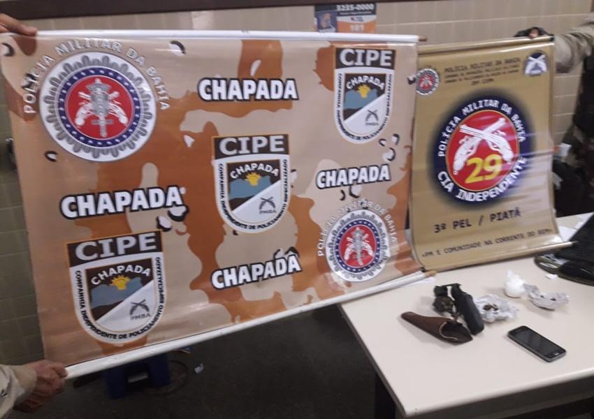 Piatã: Cipe Chapada localiza traficante com registros na polícia