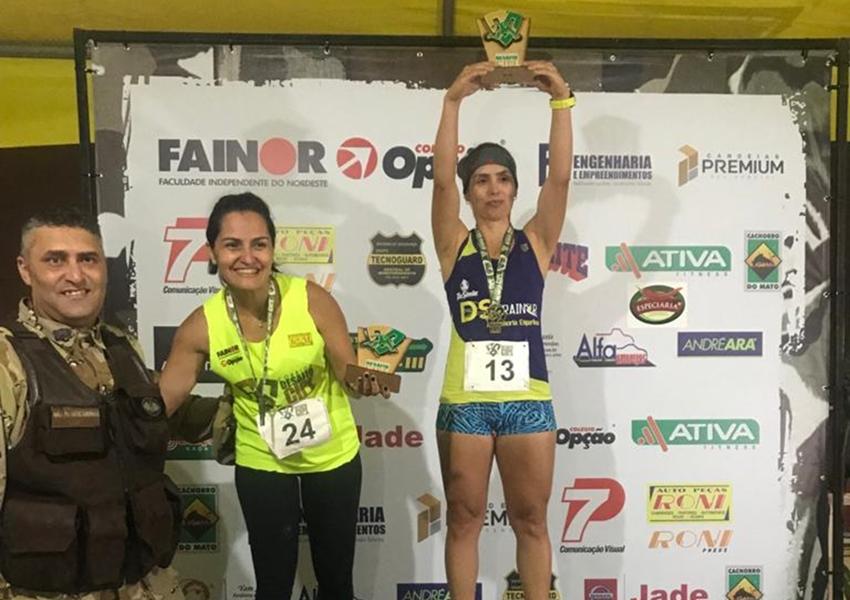 46ª CIPM: Sd PM Ivana Porto fica em primeiro lugar na corrida Desafio CIPE  Sudoeste