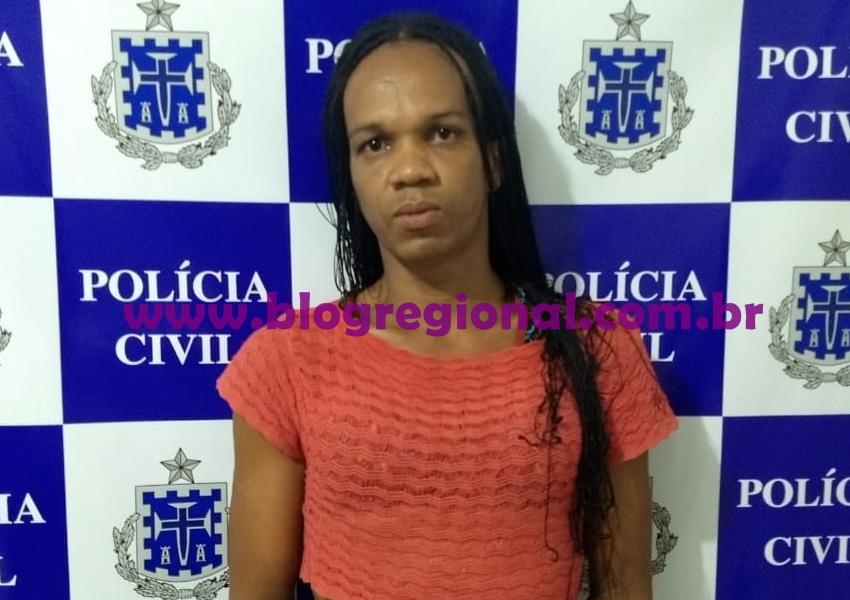 Polícia Civil de Livramento cumpre mandado de prisão no Bairro Taquari