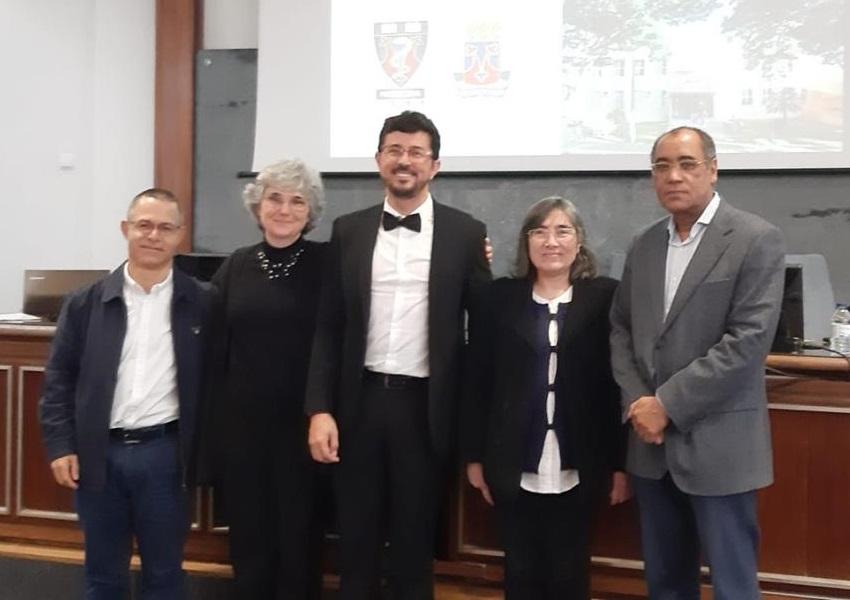 Médico brumadense defende mestrado na Europa