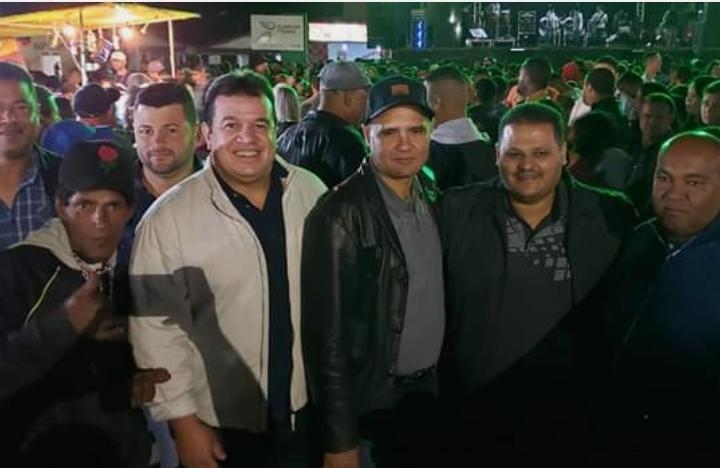 Deputado Marquinho Viana participa da festa de São Pedro em Cascavel, Ibicoara