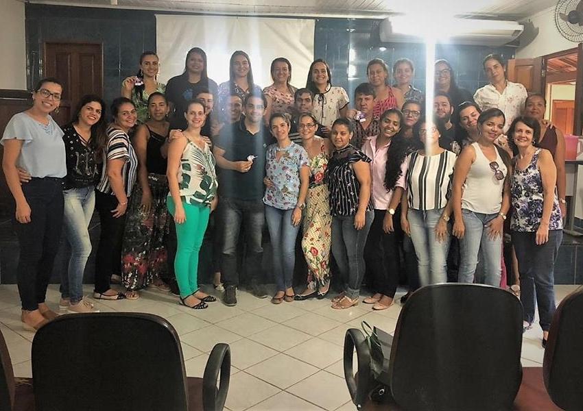 Livramento: SESAU realizou capacitação sobre a Triagem Neonatal e Teste do Pezinho