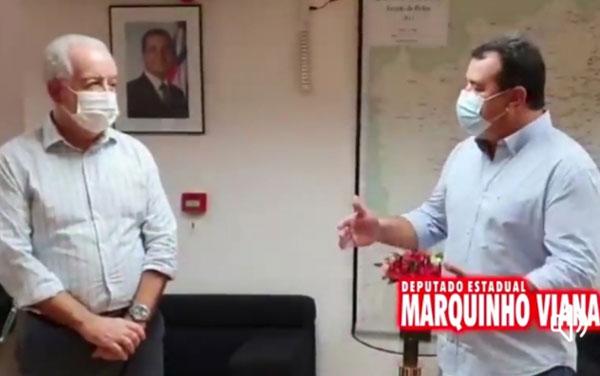 Marquinho Viana agradece Marcus Cavalcante e o governador Rui Costa pelos novos acessos rodoviários para Barra da Estiva
