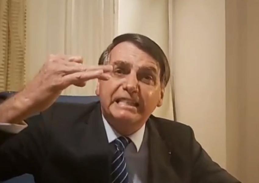 Após matéria do caso Marielle, Bolsonaro ataca Globo e Witzel; veja vídeo