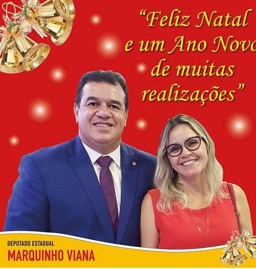 Mensagem de Natal do deputado Marquinho Viana
