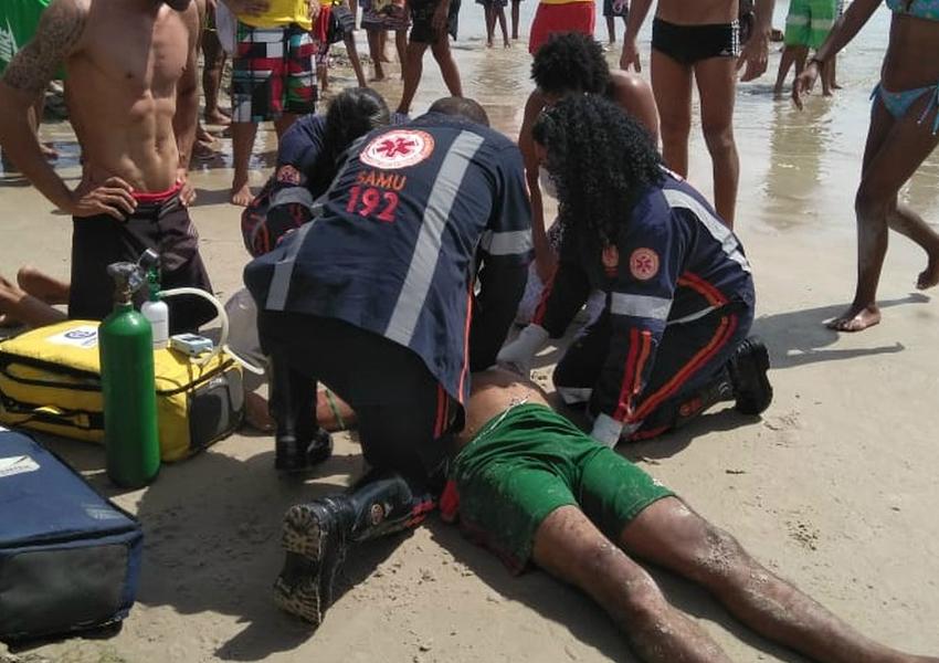 Homem de 52 anos morre afogado em praia de Ilhéus, no sul da Bahia