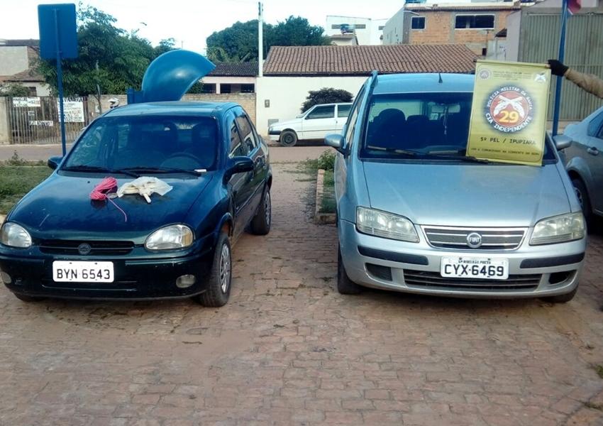 Ipupiara: Em carro apreendido com placa de SP polícia localiza explosivos