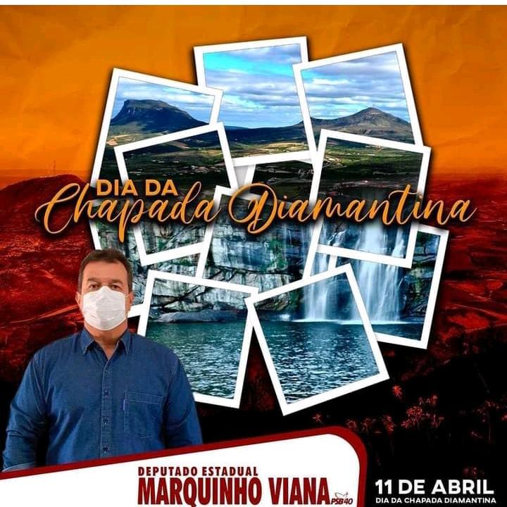Deputado Marquinho Viana destaca o Dia da Chapada Diamantina, seu potencial e beleza