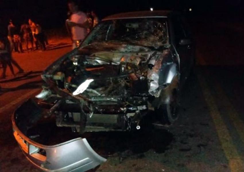 Dom Basílio: veículos se envolvem em colisão na BA-148