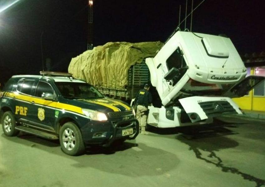 Barreiras: PRF recupera caminhão de carga roubado em São Paulo