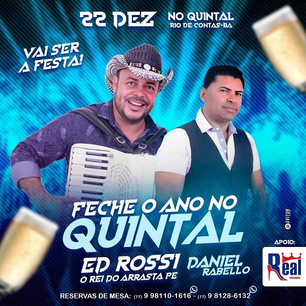 A sua melhor festa de fim de ano é no Quintal em Rio de Contas