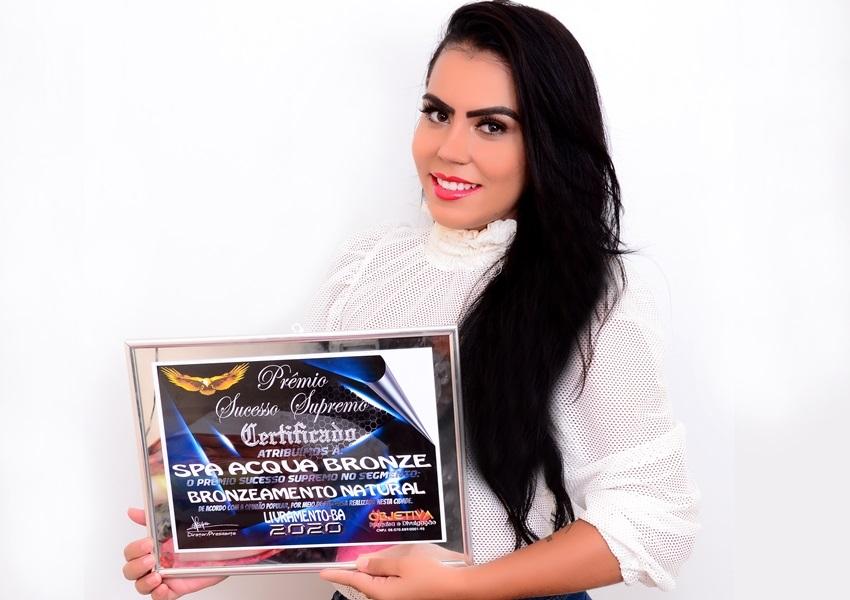 Em mais um ano consecutivo, Spa Acqua Bronze recebe titulo de destaque 2020 em Livramento