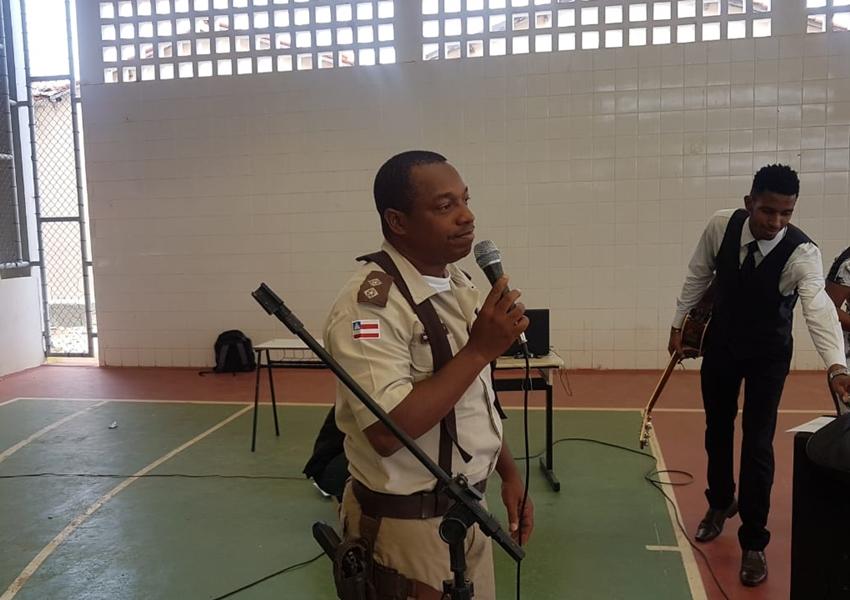 Livramento: Tenente Cláudio Márcio realizou palestra sobre a semana da  Consciência Negra e Direitos Humanos