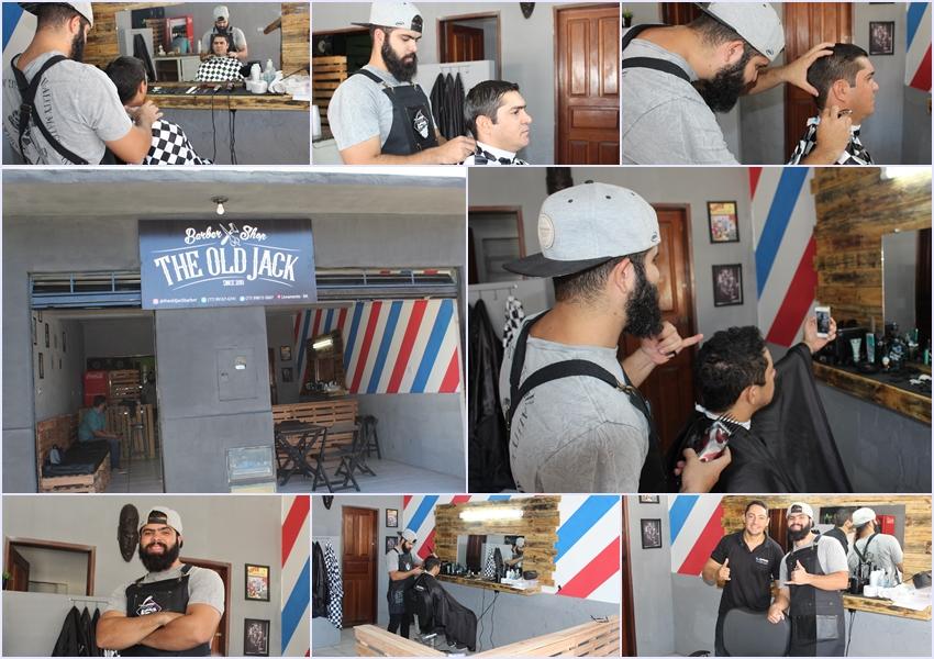 O final de semana chegou, que tal da uma passadinha na Barbearia Shop The Old Jack?