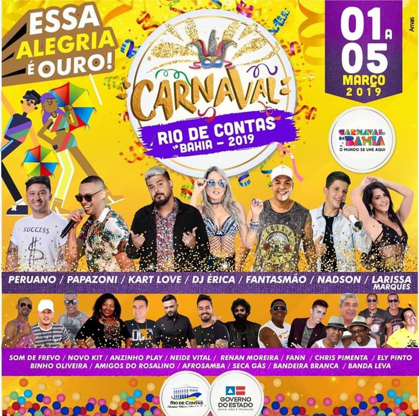 O Carnaval de Rio de Contas – Essa Alegria é Ouro