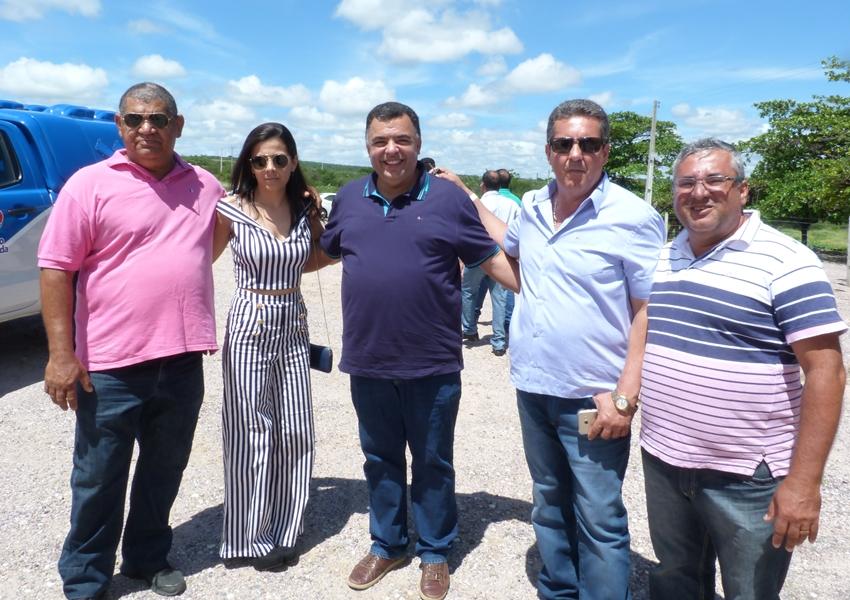 Comitiva de Livramento acompanha Governador Rui Costa durante inauguração em Brumado