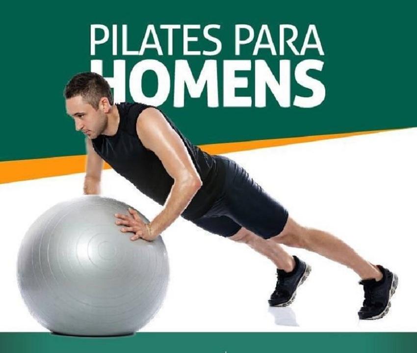 Pilates para homens é na IMAC Reabilitação