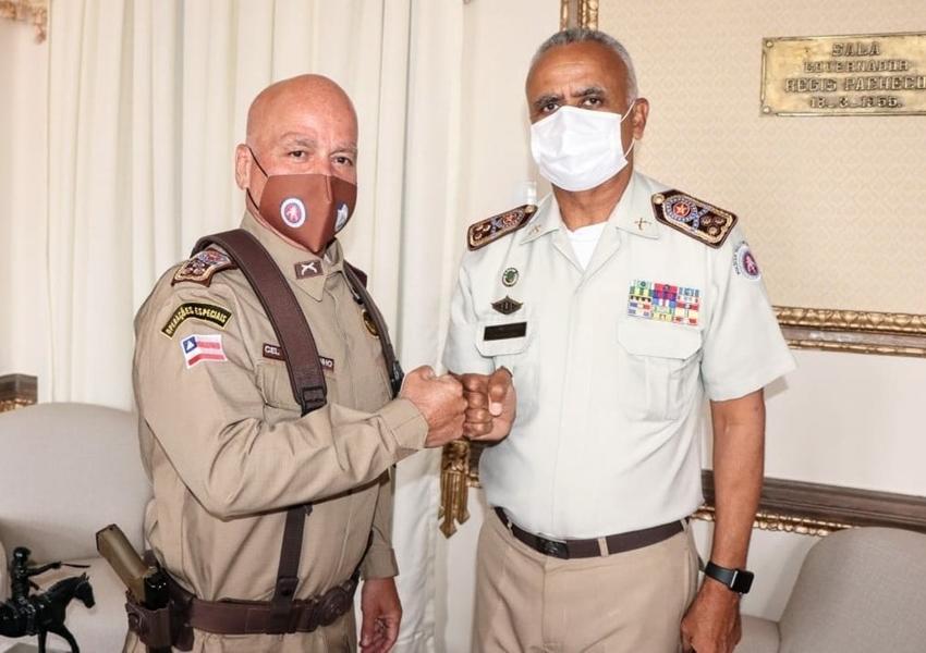 Coronel Paulo Coutinho é novo comandante-geral da Polícia Militar da Bahia