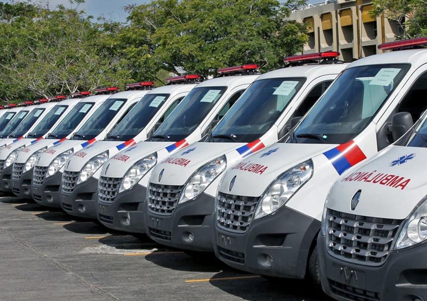 Governo do Estado entrega ambulâncias para 19 municípios baianos