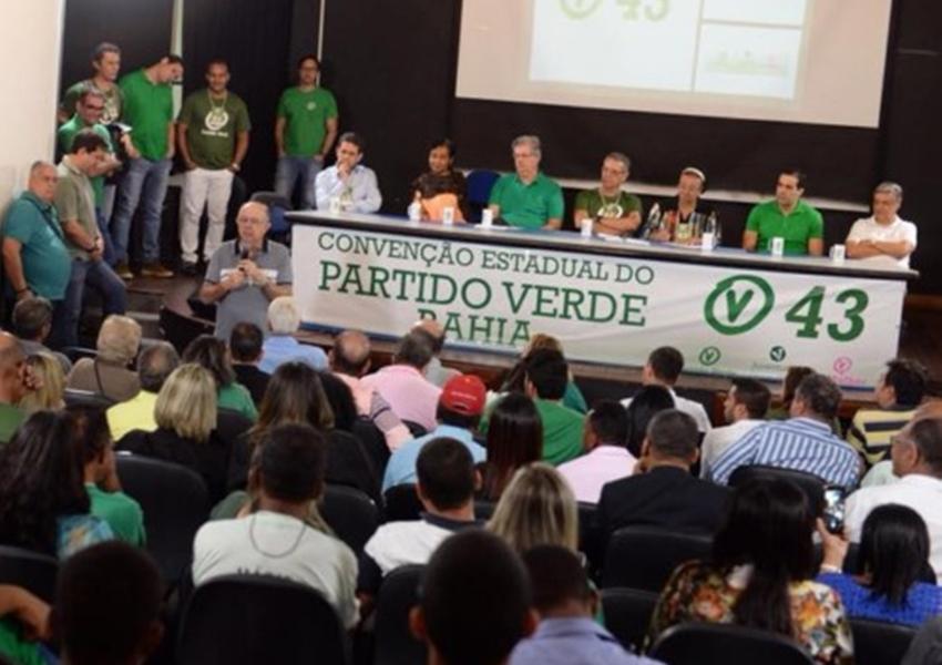 Convenção estadual do Partido Verde oficializa apoio a Zé Ronaldo e Jutahy Magalhães