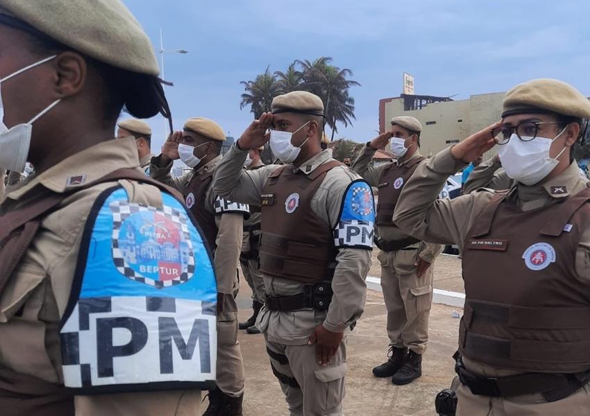 Operação Verão é lançada com anúncio de reforço policial em 59 cidades da Bahia