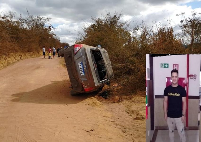 Boninal: Jovem é encontrado sem vida após acidente com veículo