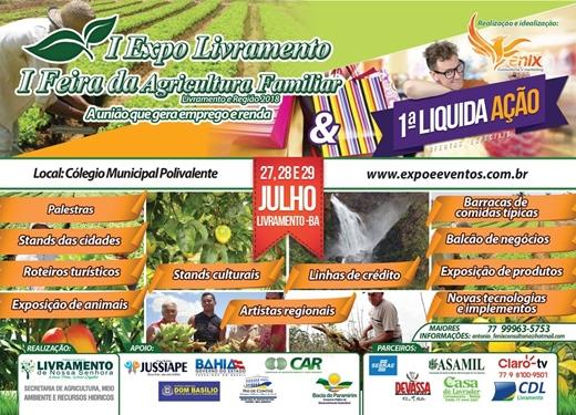 I Expo Livramento e I Feira da Agricultura Familiar de Livramento e Região 2018