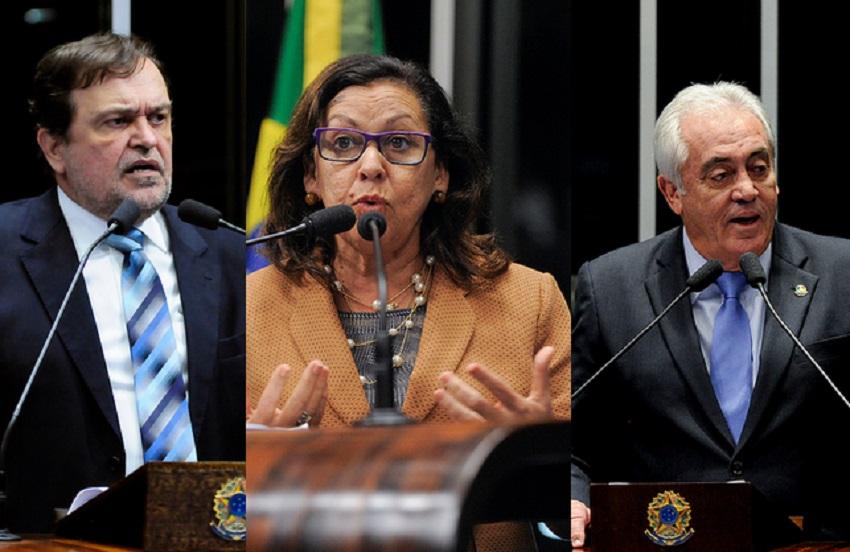 Senadores baianos votaram para manter afastamento de Aécio, mas tucano tem mandato garantido
