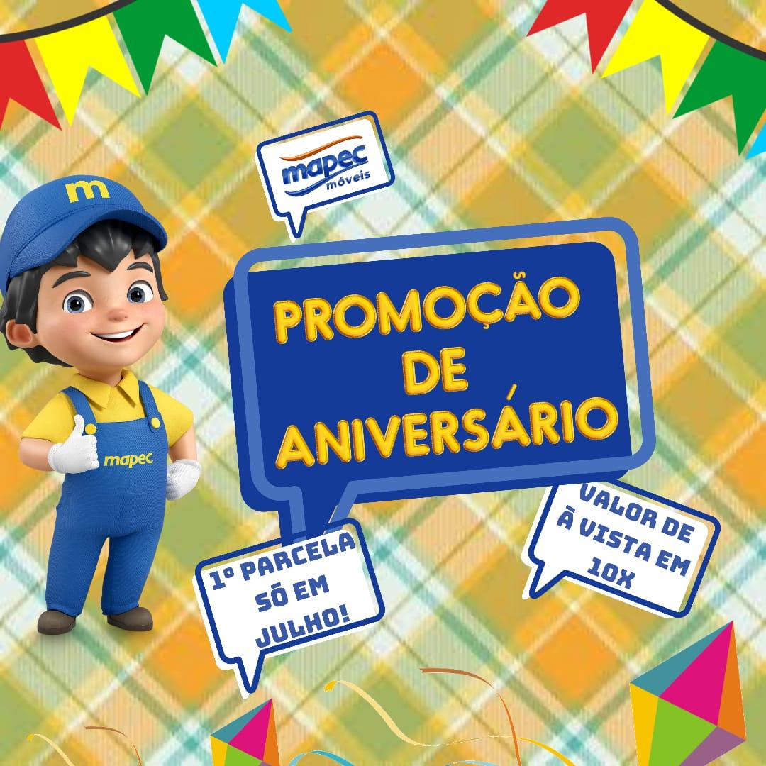 Promoção junina da Mapec móveis