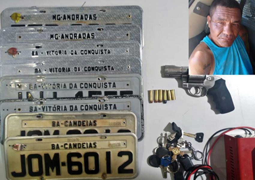 Acusado de roubos de carros morre em ação policial em Vitória da Conquista
