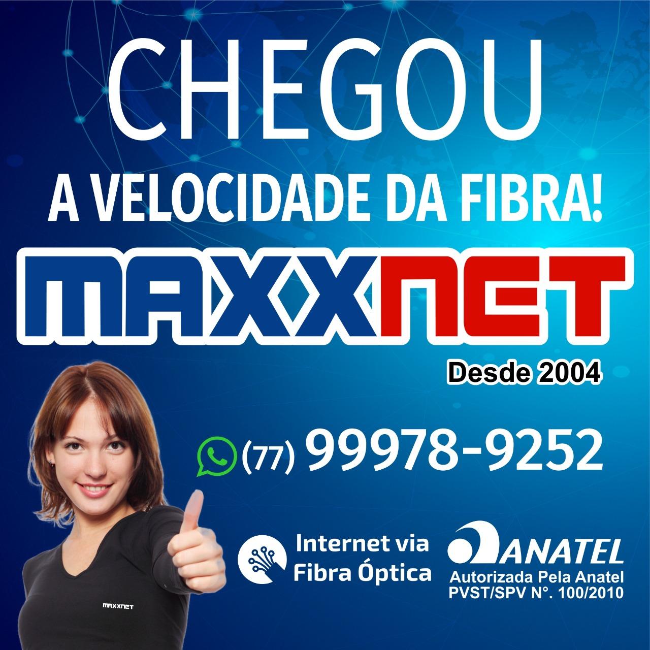 Maxxnet  -  O seu provedor de internet