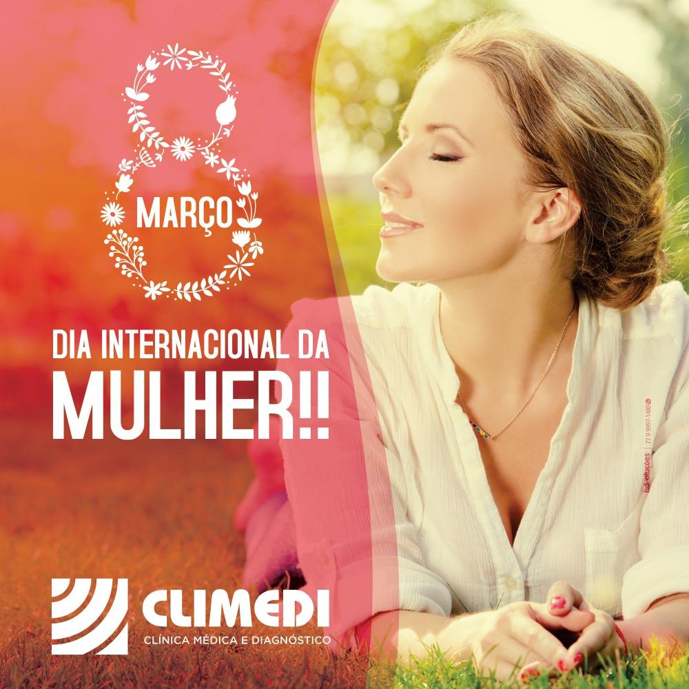 Homenagem da Climedi ao Dia Internacional da Mulher