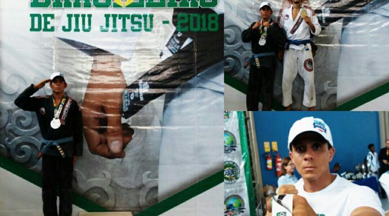 Jiu-jitsu: Soldado da PM que era lotado na 46ª CIPM de Livramento é vice-campeão brasileiro e garante vaga no mundial