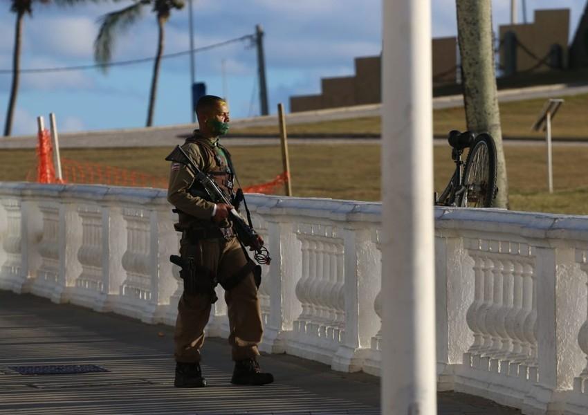 Morre PM que teve surto psicótico no Farol da Barra