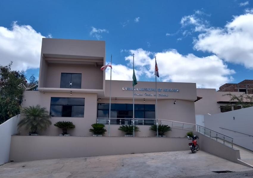 Aracatu: Câmara Municipal realizará Concurso Público