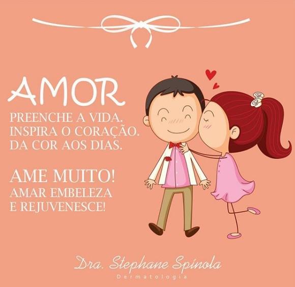 Feliz dia dos namorados é o que deseja a Drª Stephane Spínola