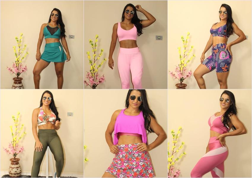 Loja Conceito Fitness apresenta sua nova coleção Primavera-Verão 2019; visite e comprove