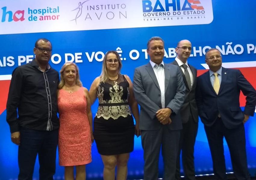 Governo firma parceria para combate ao câncer de mama e do colo do útero; representantes da CAASE estiveram presentes