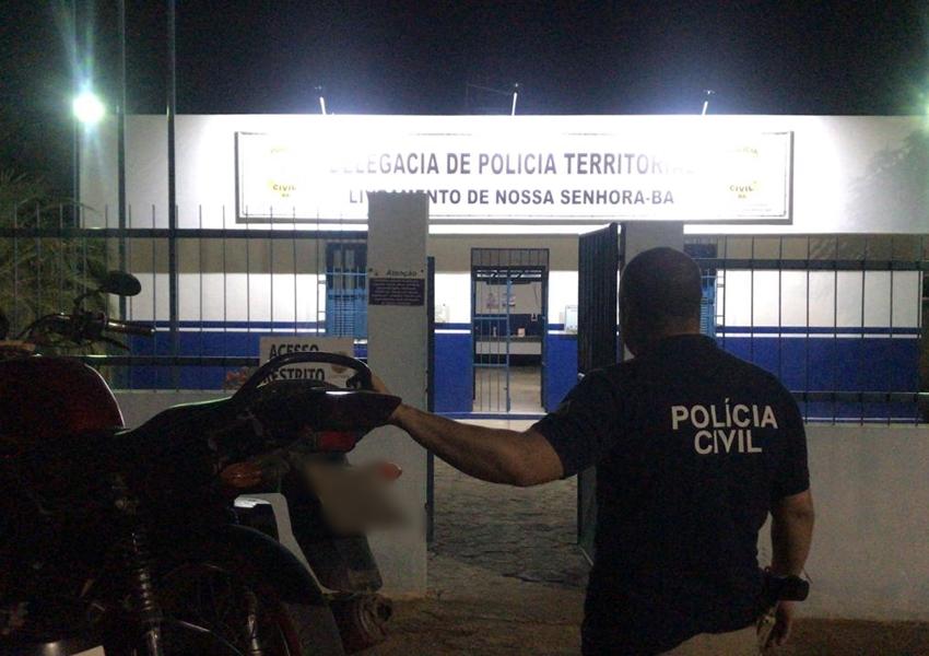 Moto furtada em Livramento é localizada em Brumado pela Polícia Civil